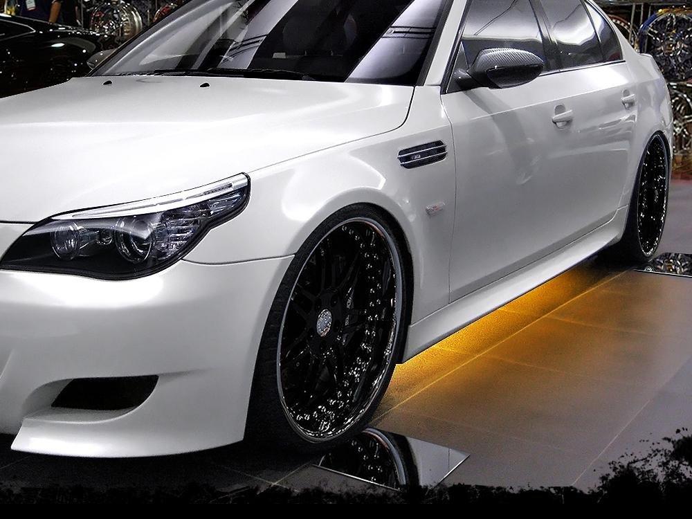 Dokładki Progów BMW 5 E60 / E61 < M5 Look > - GRUBYGARAGE - Sklep Tuningowy